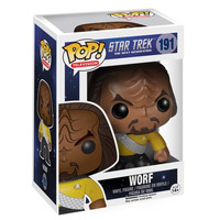 Worf Star Trek The Next Generation POP #191 Movies Vinyl Figure