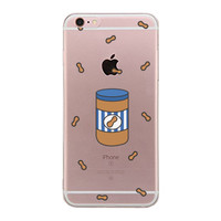 Made For - Peanut Butter BFF Clear Phone Case - Left