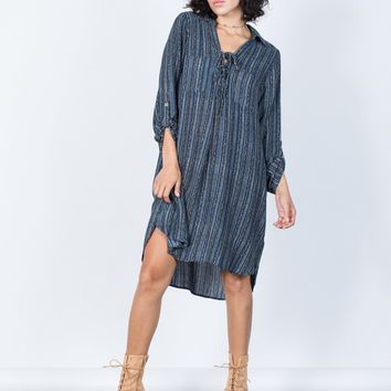 Casual Lounging Dress