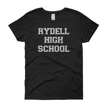 Rydell High School Grease Musical Movie Women'S T Shirt