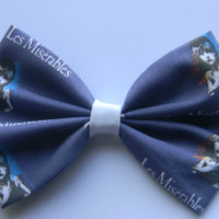 Les Miserables Inspired Classic Hair Bowmor Clip On Bow Tie
