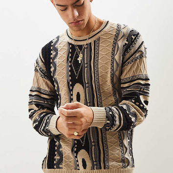 UO Textured Stitch Sweater | Urban Outfitters