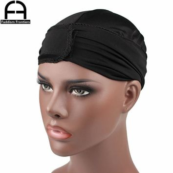 Fashion Men's Durags Bandana Turban Hat Wigs Cap Men Durag Biker Headwear Headband Pirate Beanie Hat Hair Accessories
