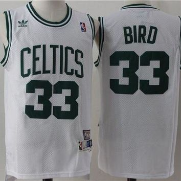 PEAP Boston Celts 33 Larry Bird Swingman Jersey