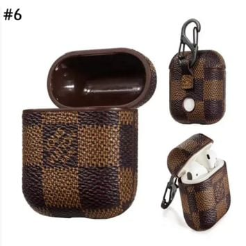 Supreme & GUCCI LV & Burberry Airpods protective cover case