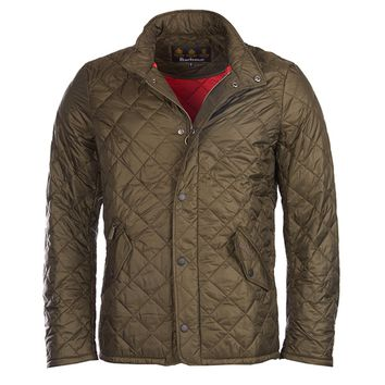 Flyweight Chelsea Quilted Jacket in Olive by Barbour