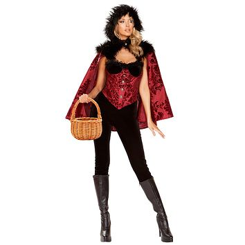 Sexy Little Red's Big Little Lies Velvet and Damask Costume