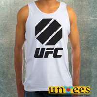 UFC Octagon Logo Clothing Tank Top For Mens