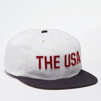 Port The USA 6 Panel Hat - Mens Backpack - White - One
