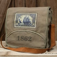 Leather & Canvas 1862 Messenger Bag
