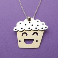 Cuppington the Cupcake Necklace