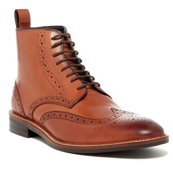 New in Box - Gordon Rush Emerson Derby Wingtip  Leather Boots