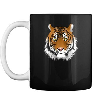 Wildlife Protection Tiger Face  - Retro Fashion Tee Mug