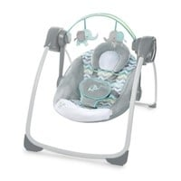 Ingenuity Comfort 2 Go Portable Swing Jungle Journey - Walmart.com