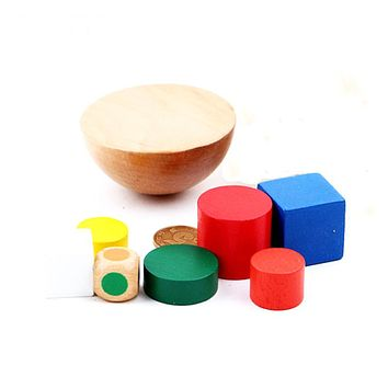 Fashion Wooden Toy Balancing Game Canvas Bag Children'S Educational Toy For Baby Boy And Girl Gift