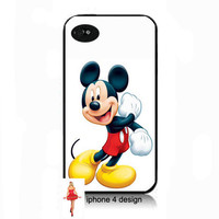 Disney Mickey Mouse I phone 4 case, Iphone case, Iphone 4s case, Iphone 4 cover, i phone case, i phone 4s case