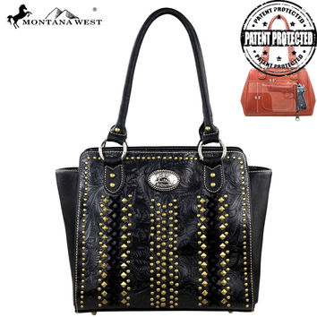 Montana West MW146G-8250 Concealed Carry Handbag