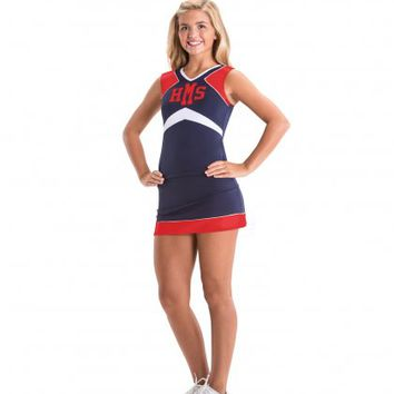 Home :: Cheer :: Cheer Uniforms :: Cheer Stretch Top and Cheer Stretch Skirt