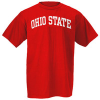 Ohio State Buckeyes Scarlet Arch T-Shirt
