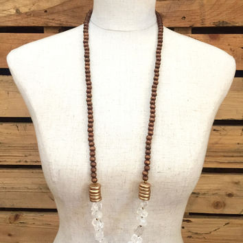 Betsy Pittard Designs- Angelica Necklace- Clear