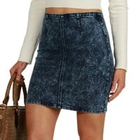 Sale-denim 80s Baby Mini Skirt