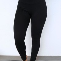 Perfect Fit Leggings: Black