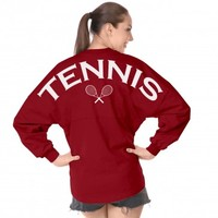Tennis - Classic Unisex Long Sleeve, Crew Neck Spirit Jersey®