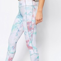 Free People Movement Legging in Tie-dye Cloud Print