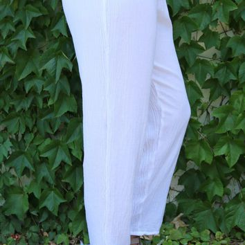 Dolphin Pant - Snow by Oh My Gauze