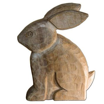 Smith & Hawken® Mango Wood Rabbit