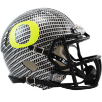 Oregon Carbon Fiber HydroFX Speed Mini Helmet - Oregon Ducks - O-R - College Football - Collectibles
