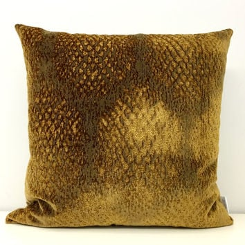 Gold Velvet Pillow Covers, Velvet Cushion, Gold Pillow, Velvet Pillow, Decorative Pillows, Throw Pillows, Gold Velvet Couch Pillow Cıvers