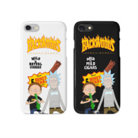 Rick and Morty Thrasher Backwoods Phone Case