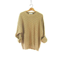 vintage slouchy sweater.  sweater. oversized pullover shirt.