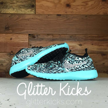 Women s Nike Juvenate Running Shoes By Glitter Kicks - Customized With  Swarovski Cryst dc5a481c1b