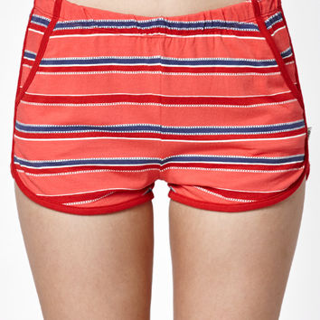 OBEY Porterville Stripe Jogger Shorts at PacSun.com