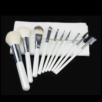 Make-up Brush 10-pcs Eye Shadow Brush Cheek Brush [9647070415]