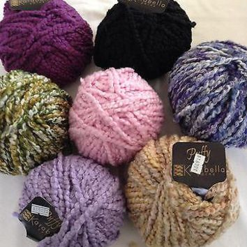 KARABELLA  PUFFY - SUPER BULKY WEIGHT - 100% WOOL YARN