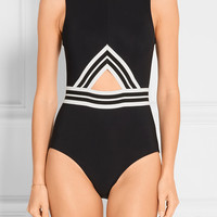 Karla Colletto - Parallel cutout swimsuit