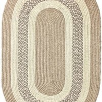 Rugs USA Jubilee Outdoor Braided Blue Rug