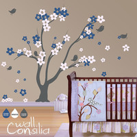 Tree Wall Decal Wall Sticker Nursery Wall Sticker by WallConsilia