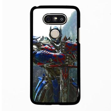 NEW OPTIMUS PRIME TRANSFORMERS LG G5 Case Cover