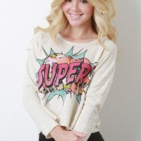 Super Wow Sweater Top