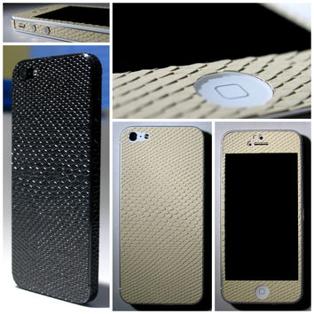 3D Luxury FULL BODY Mamba SNAKE Effect Skin for iPhone 5S 5 4 4S