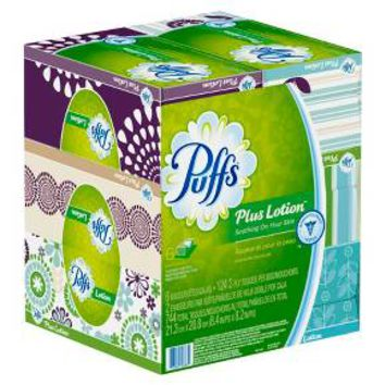 Puffs Plus Lotion Facial Tissues - 6Pk : Target
