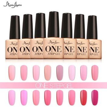 3 in 1 One Step Nail Gel Polish One Step Soak Off UV Nail Gel For Nail Art