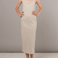 Frances May - Organic Putty Long Tank Dress