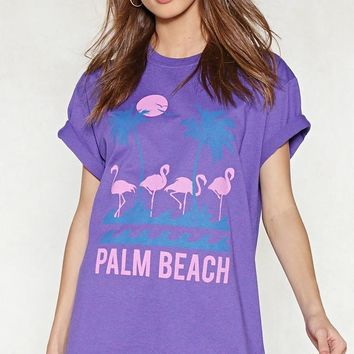Palm Beach Relaxed Tee
