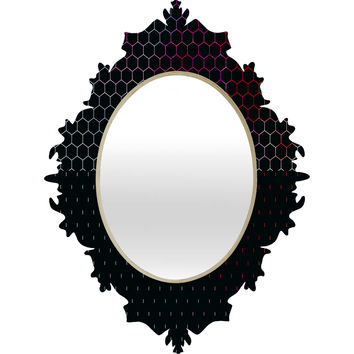 Caleb Troy HoneyComb Arcade Baroque Mirror