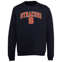 Syracuse Orange Midsize Classic Crew Sweatshirt - Navy Blue